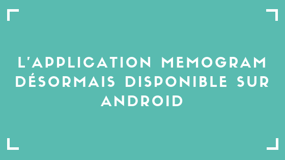 Application Memogram Android Pierre Becker