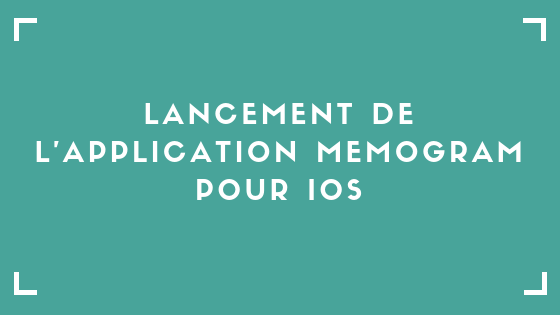 Application Memogram pour iOS Pierre Becker